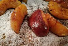 Ροδακινόπιτα στο τηγάνι