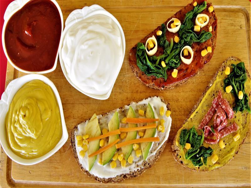 Σπιτική κέτσαπ,μαγιονέζα και μουστάρδα