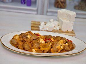 Χοιρινή τηγανιά πικάντικη